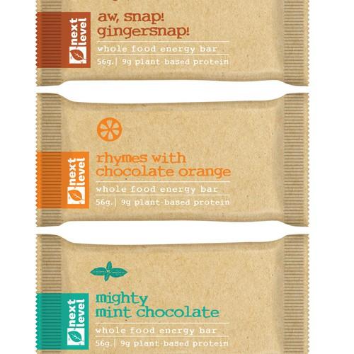 minimalist organic  label