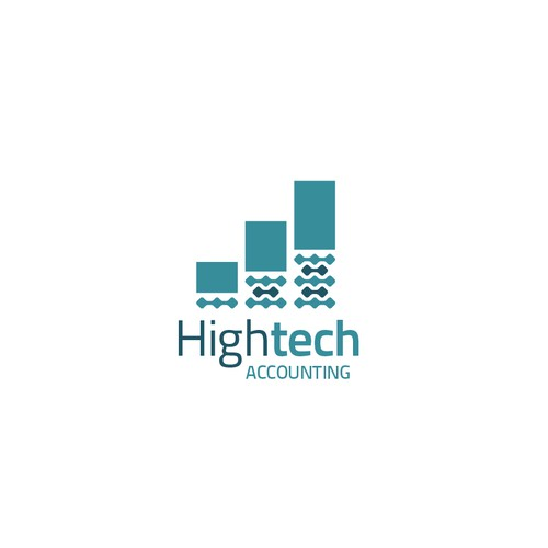 Logo for a High Tech Accounting Firm