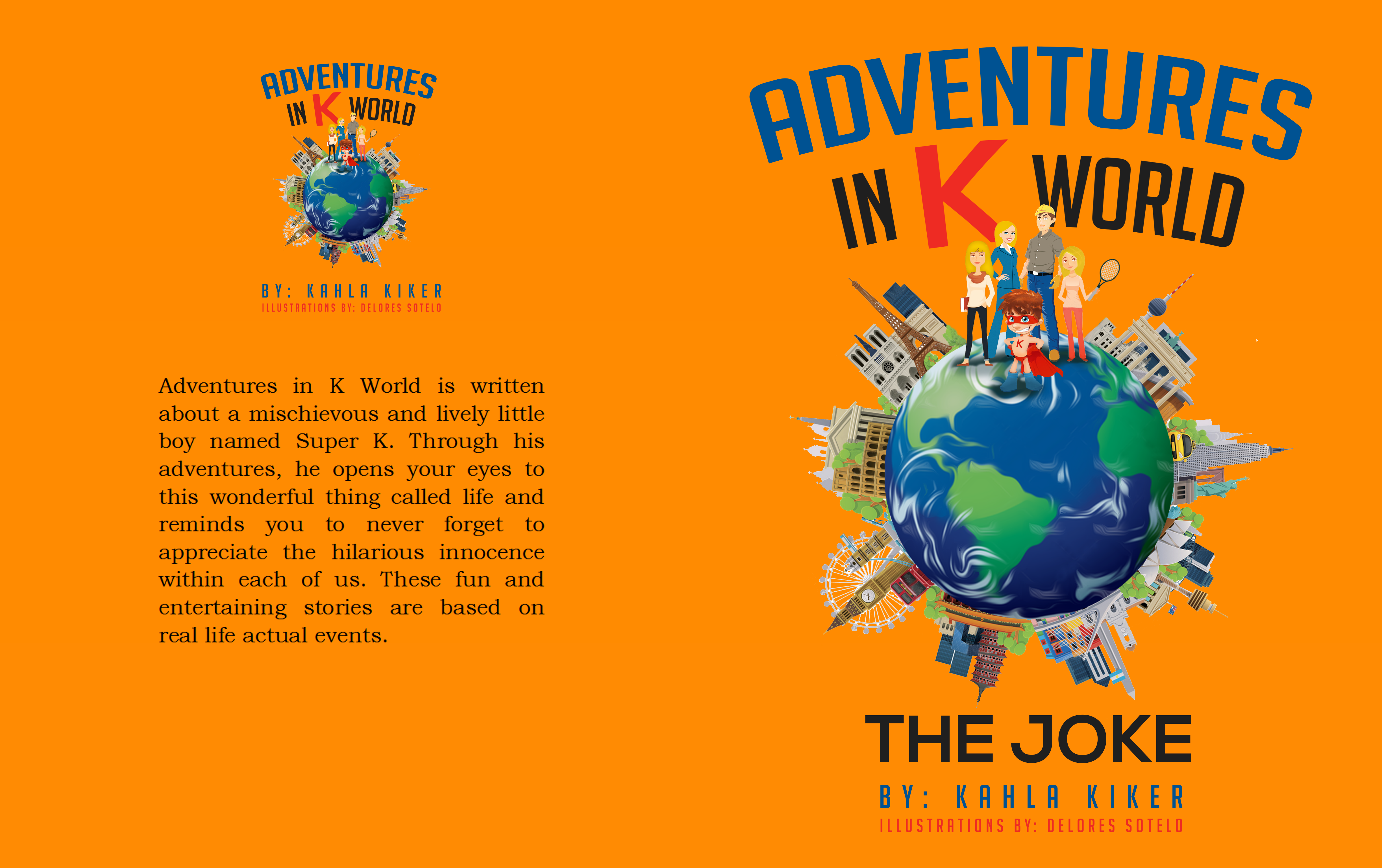 Adventures in K World - Next 2 Book Covers