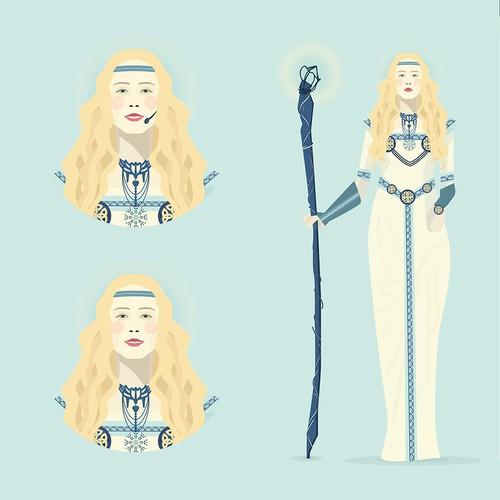 Nordic Godess Avatar