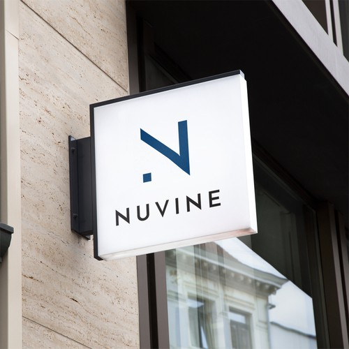 Logo for Nuvine company