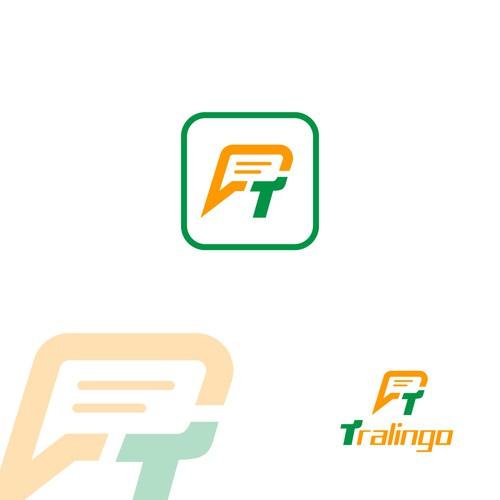 tralingo chat app icon