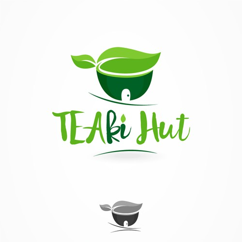 Logo design for Teaki Hut