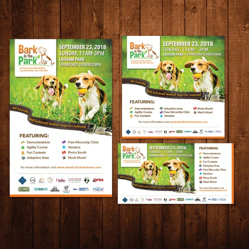 Ads for Bark in the Park