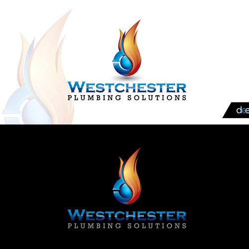 Professional, clean, fun and something that stands out. Plumbing and heating figures done in a professional way.