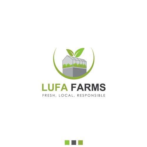 Feeding cities with rooftop farms... Lufa Farms needs a new logo