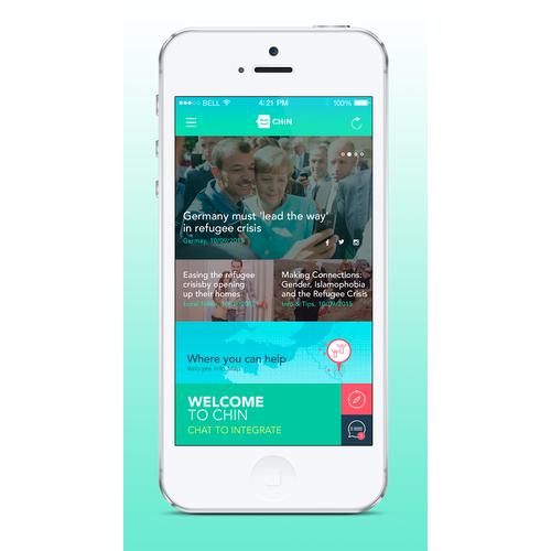 App Design - CHIN Chat to Integrate