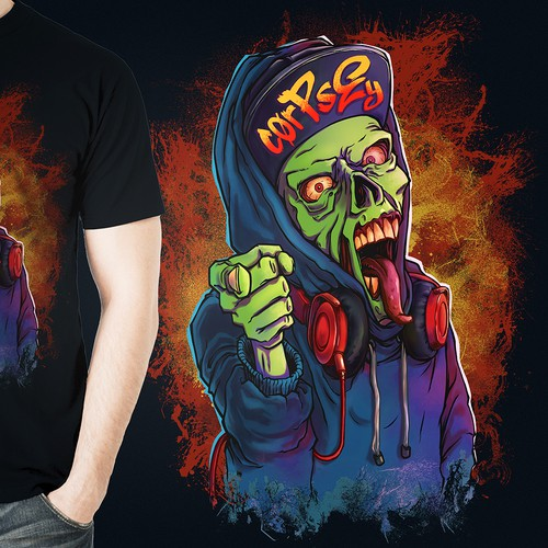 Twitch Streamer T-shirt Design