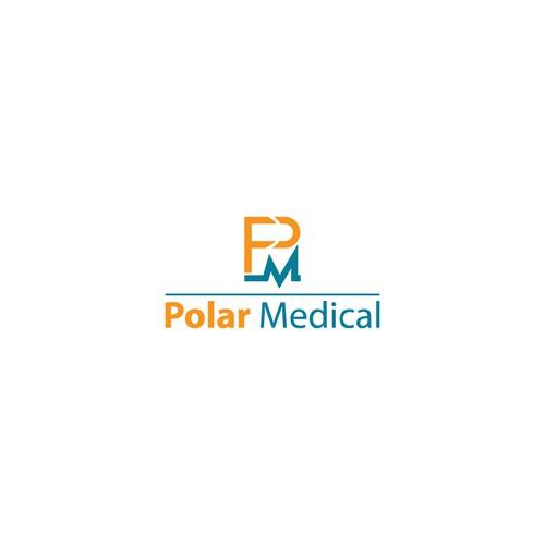 stylish logo concept for Polar Medical