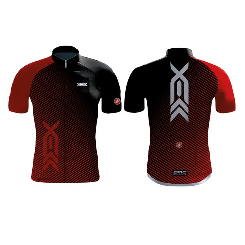 Jersey for cycling team