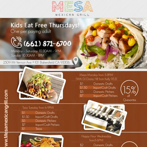 Restaurant Print Ad