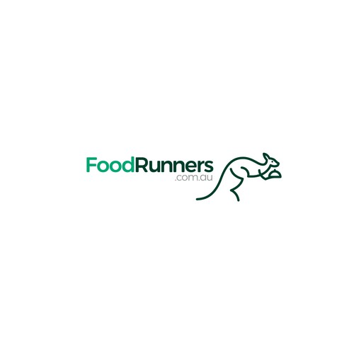 Logo design concept for delivery food company.
