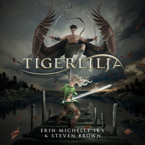 Cover Illustration and Design for Tigerlilja