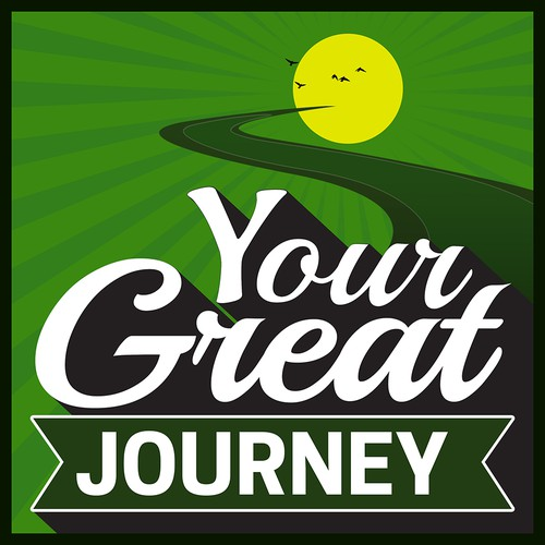 Your Great Journey Podcast Cover Concept