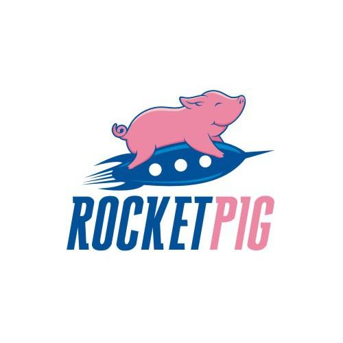 Rocket Pig Logo