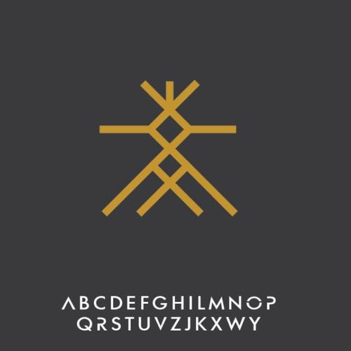 Modern Symbolic Sacred Geometry design