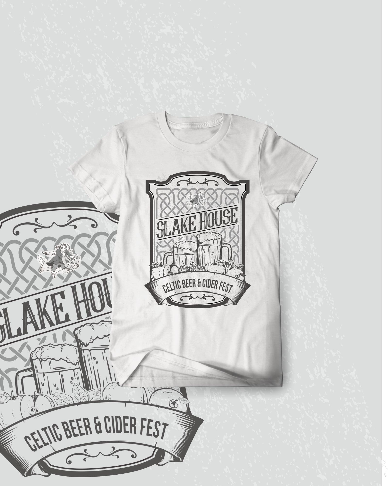 Celtic Beer & Cider Fest T-shirt design