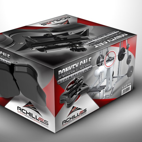 Packaging Design for Achilles