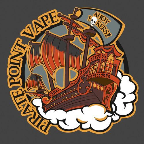 Logo for a Vape Shop