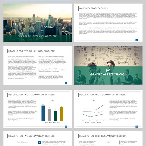 Professional & Modern Educational PowerPoint for Corporate Audience