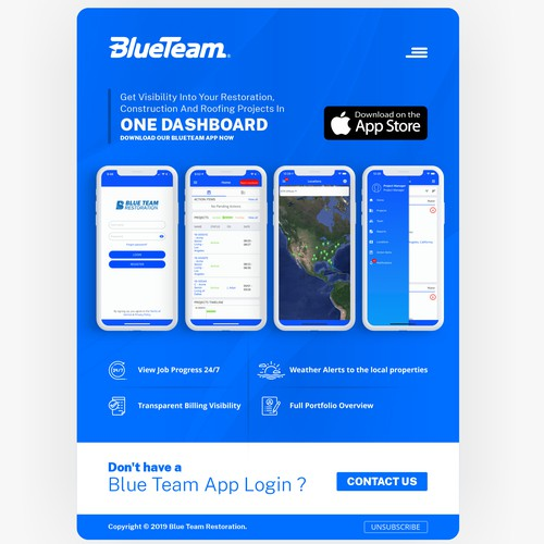 Email Marketing - BlueTeam