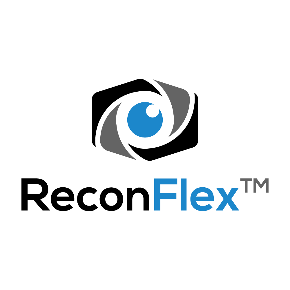 ReconFlexTM - Logo for high-resolution special camera used in field of technology and research