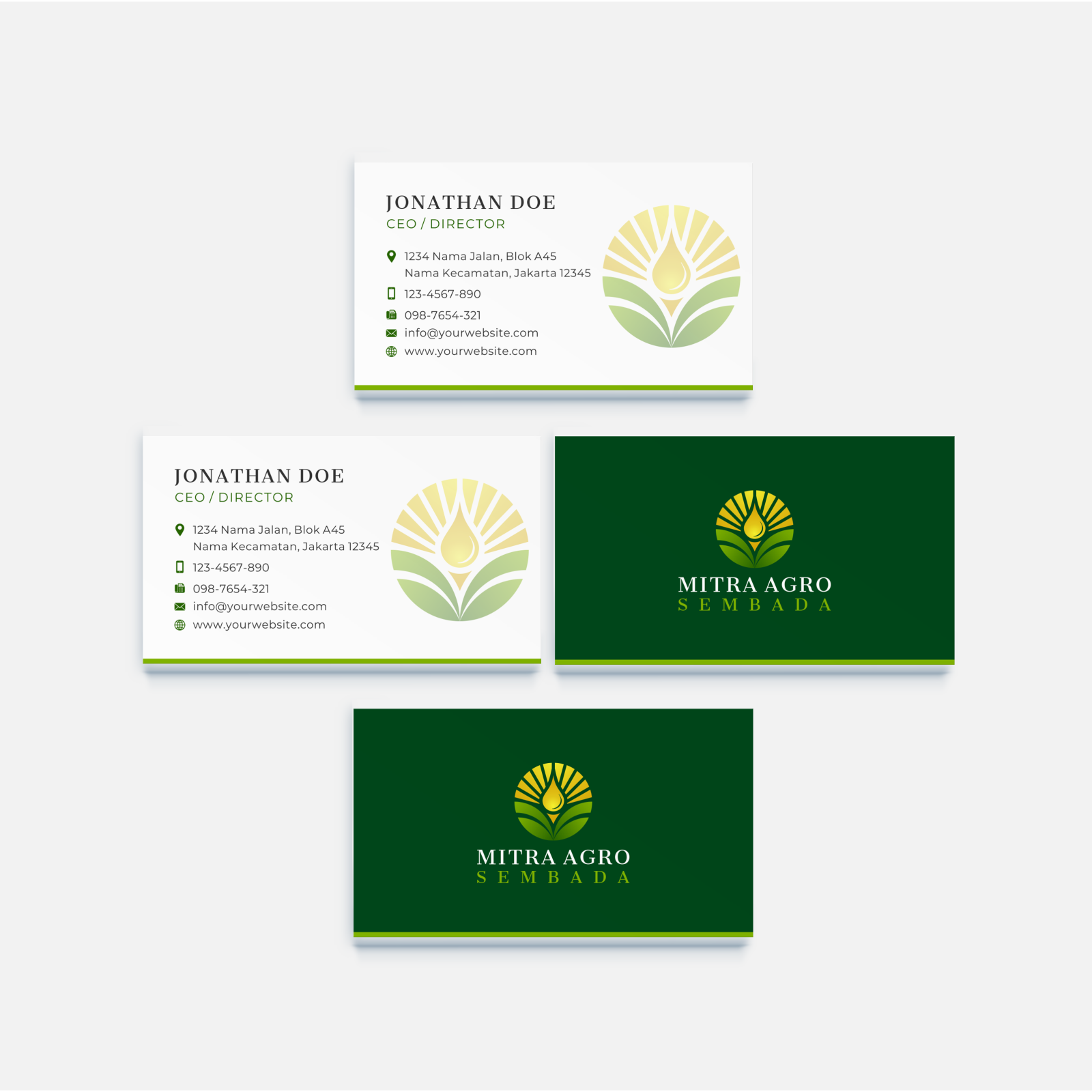 Design logo for a palm oil factory/industry & agri trading company