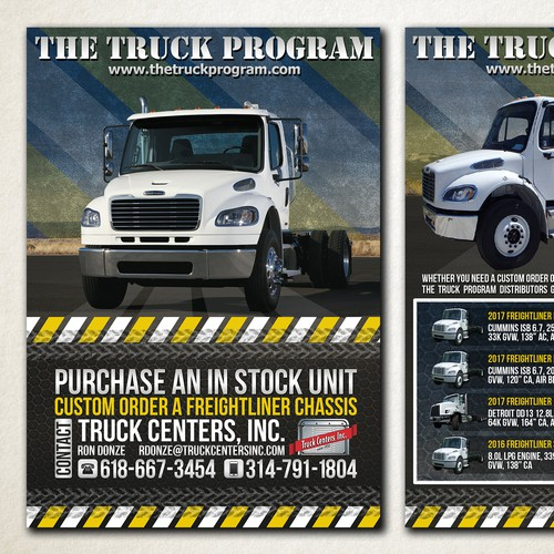 Flyer for 'The Truck Program'