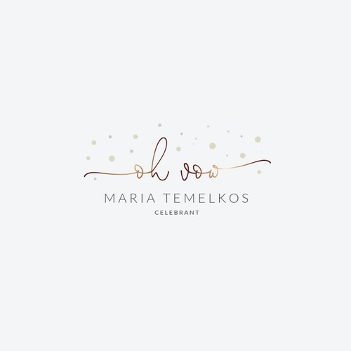 A logo for a private marriage celebrancy service
