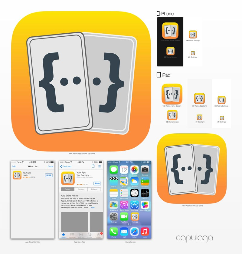 Code Cards app icon