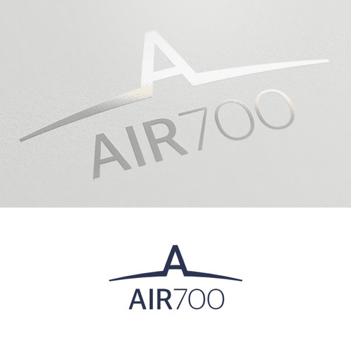 A luxurious logo for Private Air company.