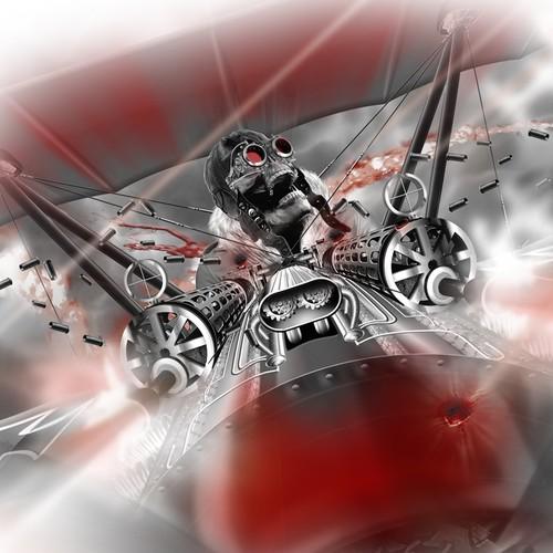 red baron illustration
