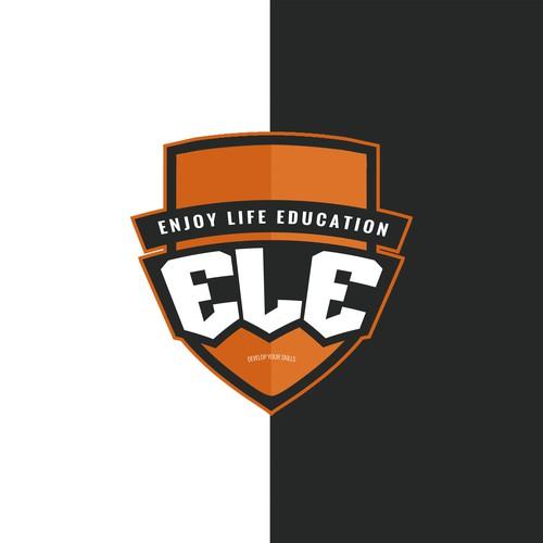 ELE Logo design