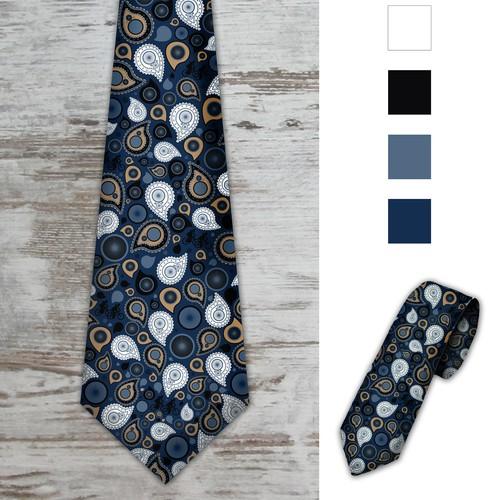 Elegant mans tie design
