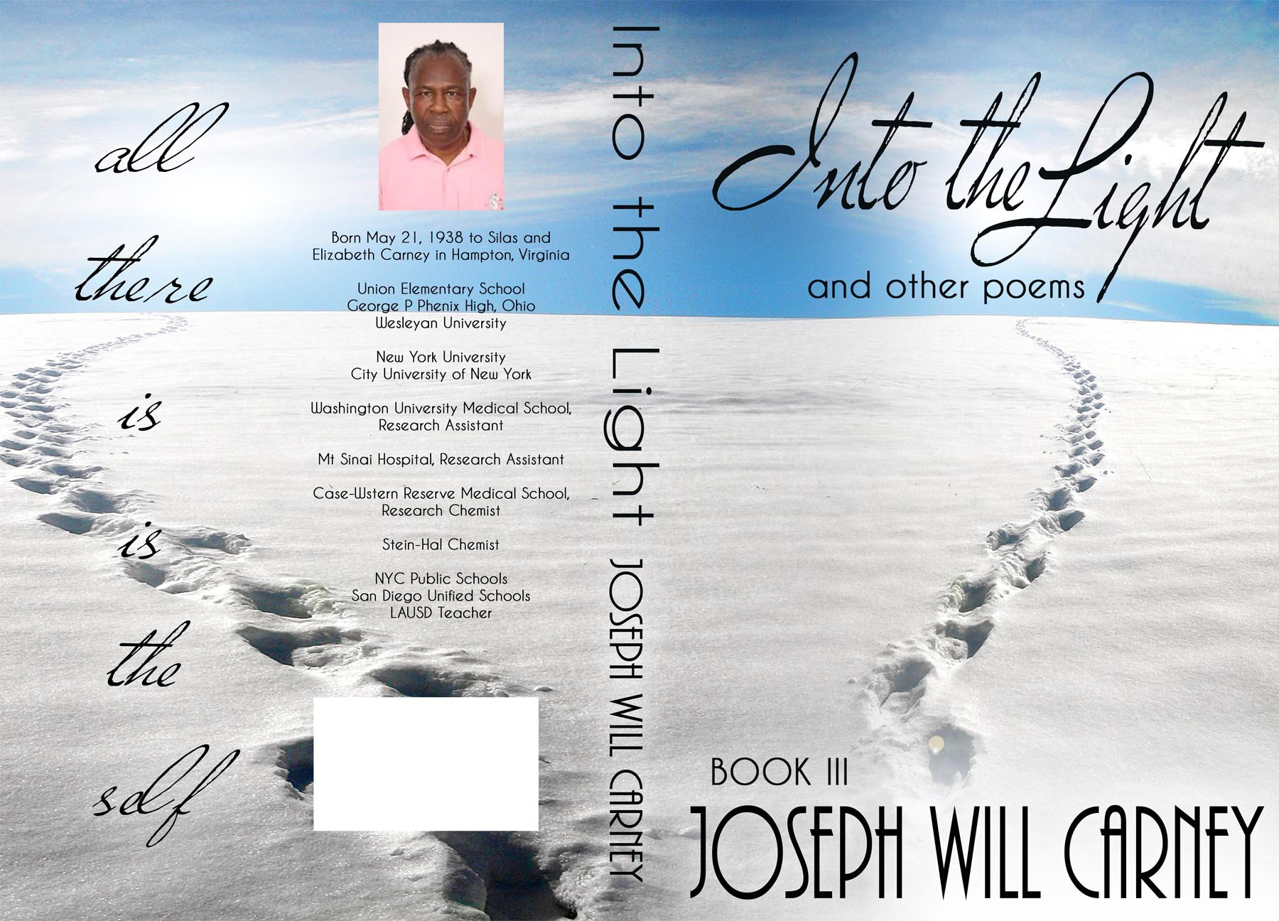 Help josephwillcarney with a new book or magazine cover