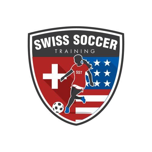 Swiss Soccer Training Logo