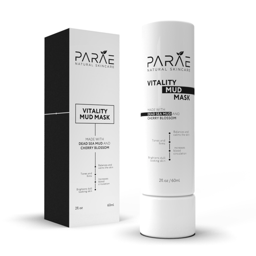 Packaging and label design for Skincare Company
