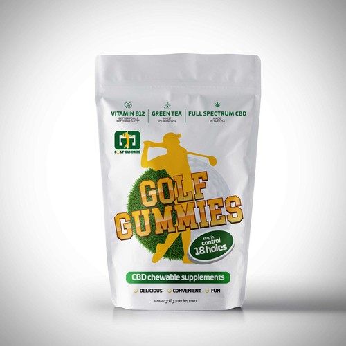 Golf Gummies Packaging