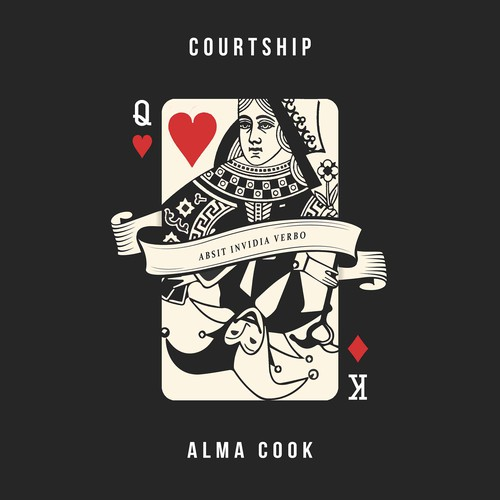 Capture male/female power play in album artwork - Alma Cook