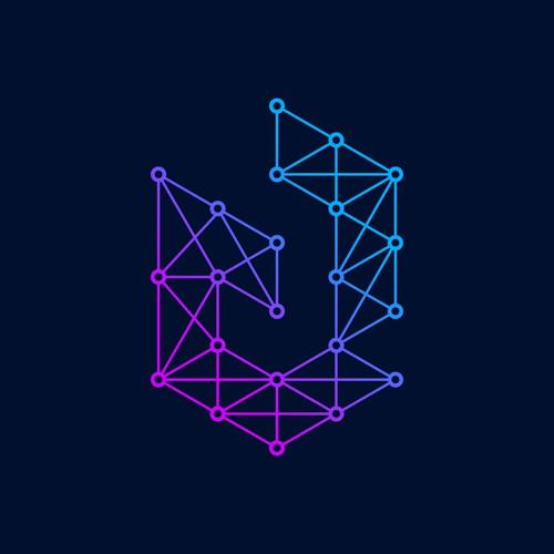 Modern logo for technology company
