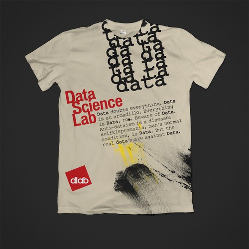 T-shirt Dada inspired for Data Science Lab