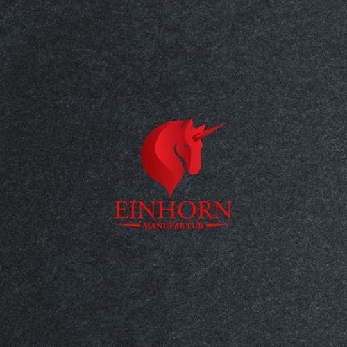 Logo concept for Einhorn Manufaktur