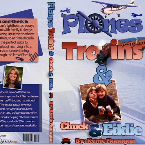 Planes and Trains Children's Book