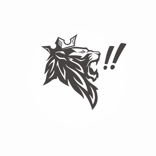 Unused lion logo (available)