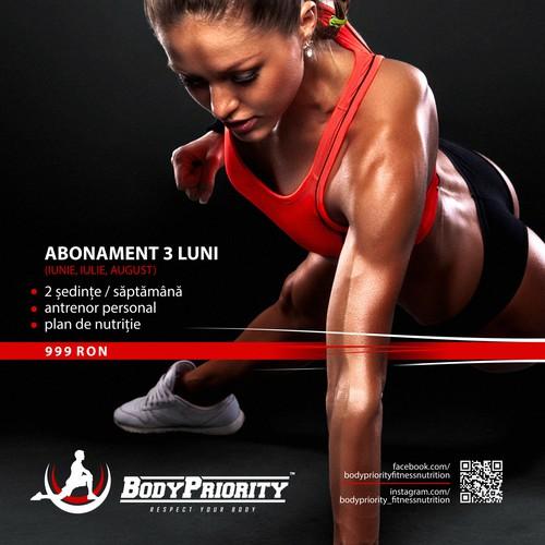 Body Priority - Poster design.
