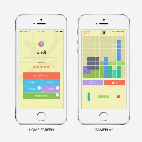 Re-Design Grid - Mobile (iOS)