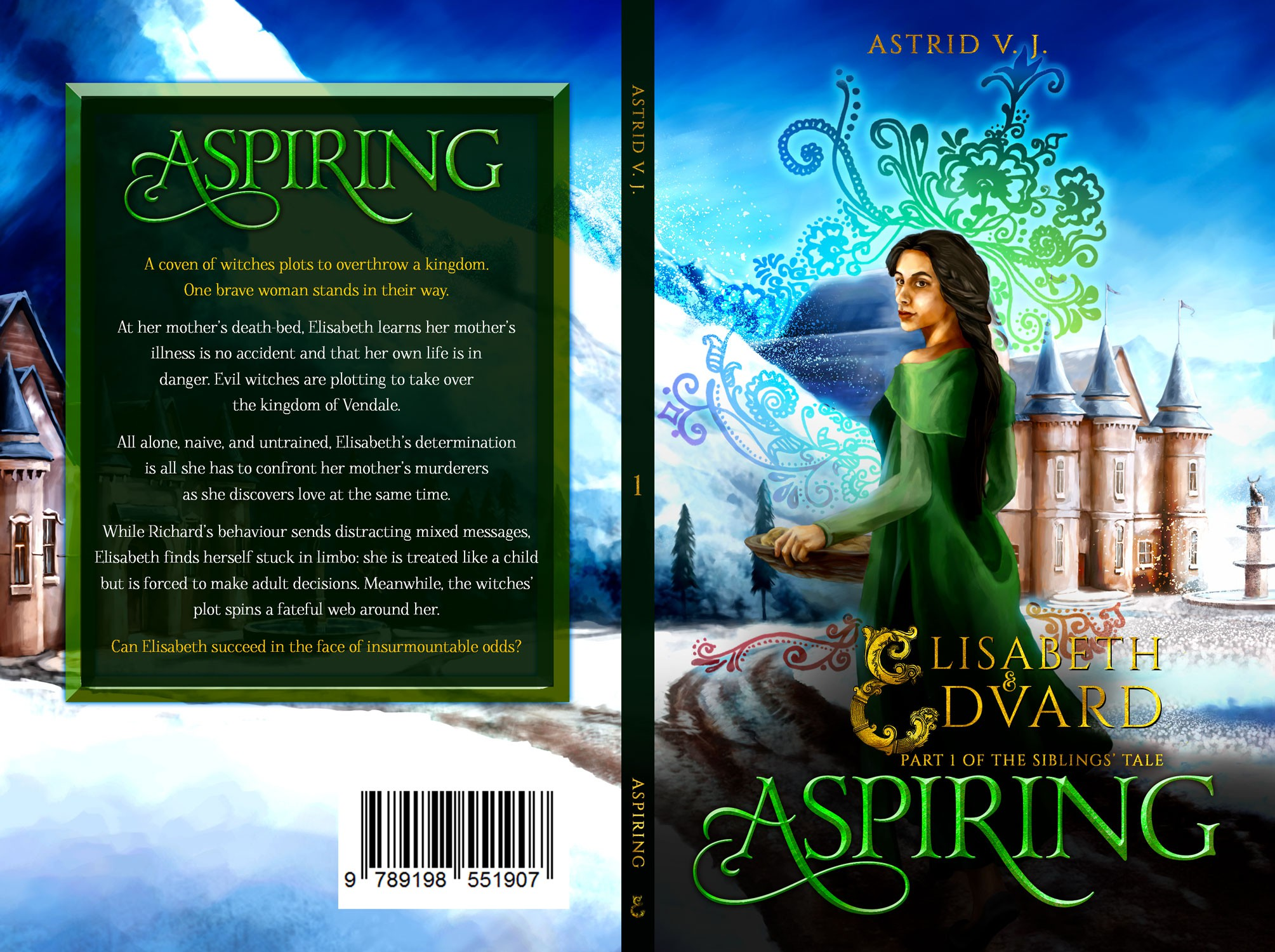 Elisabeth and Edvard - Aspiring Part One of the Siblings' Tale