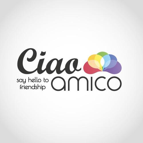 Logo concept for an italian social network