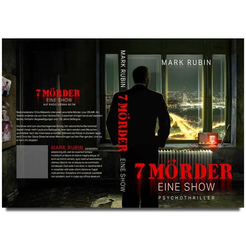 Book cover Sieben Mörder