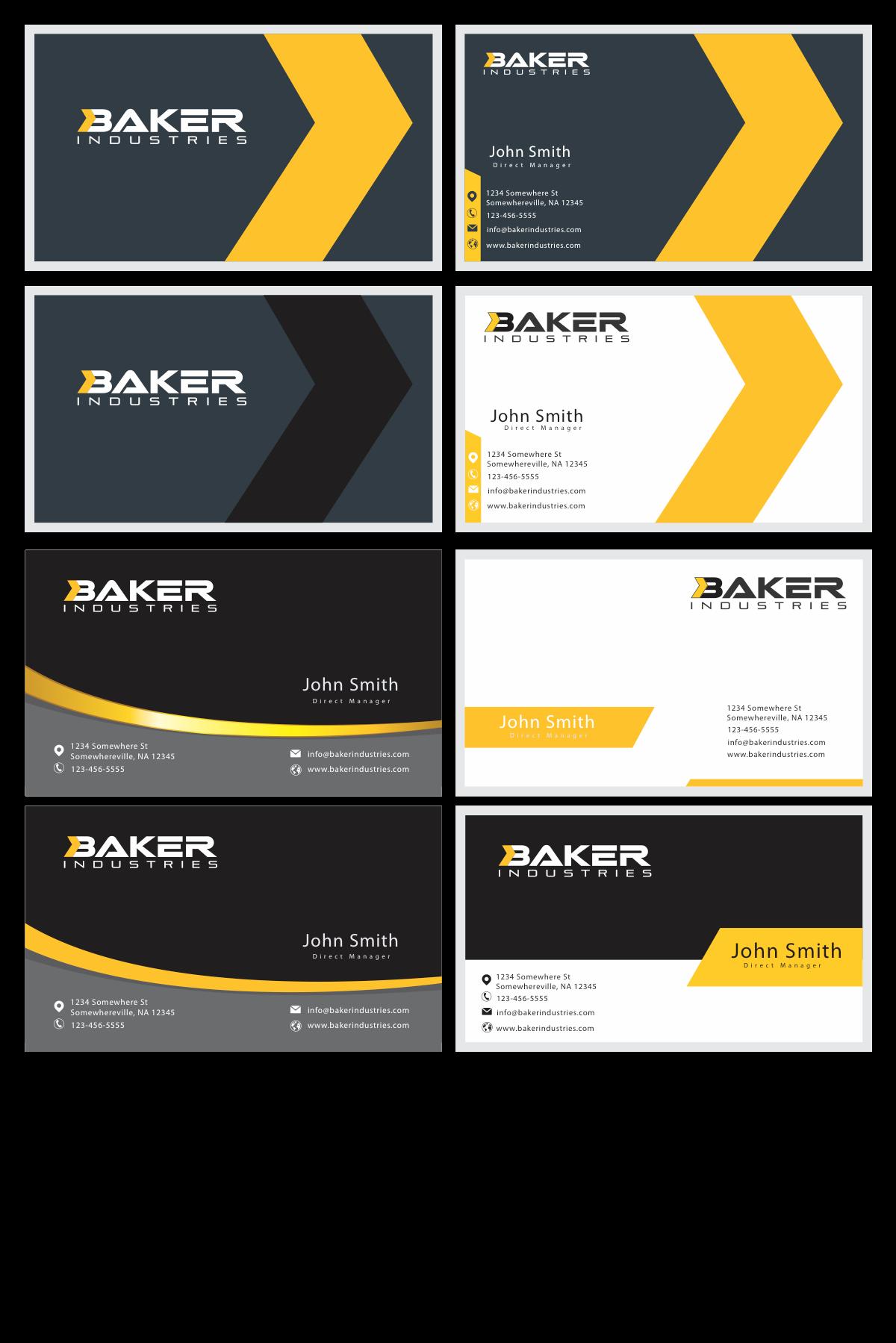 "Additional logo for ""Baker Industries"""